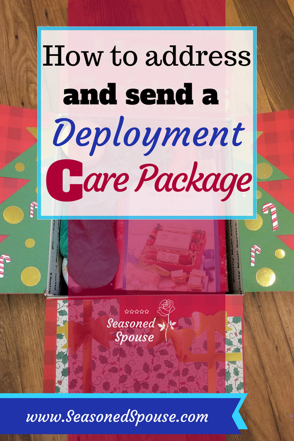 Here's how to send a care package overseas using free supplies from the Post Office.