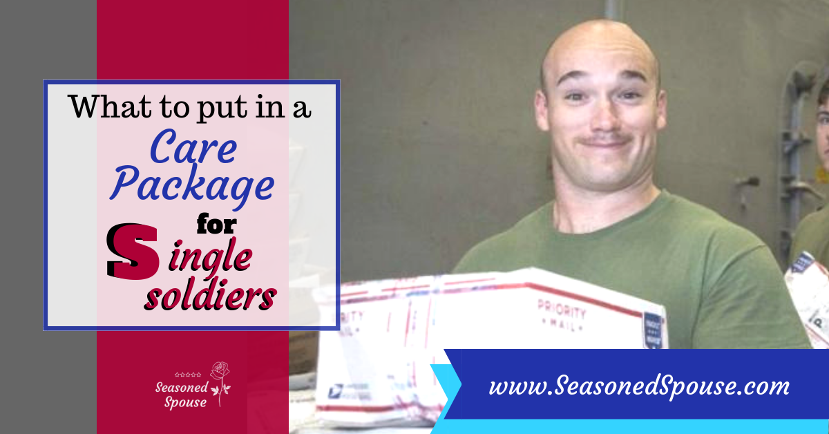 How to make a Care Package for single Soldiers, Sailors, Marines, or Airmen