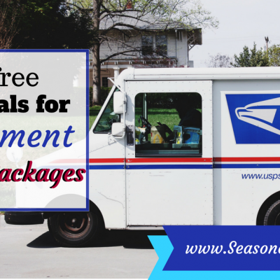 How to send a care package overseas with free materials