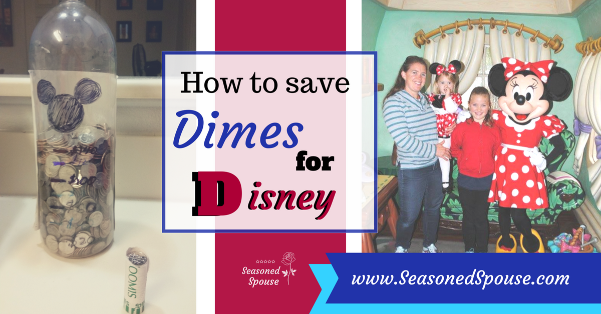 Here's a fun way kids can save dimes for Disney during deployment!