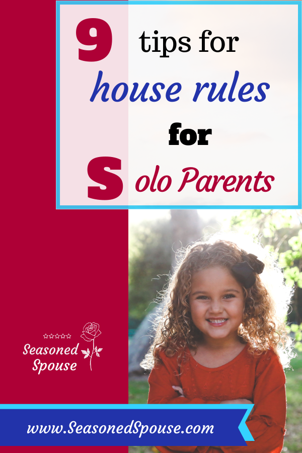 house rules for solo parents of military kids