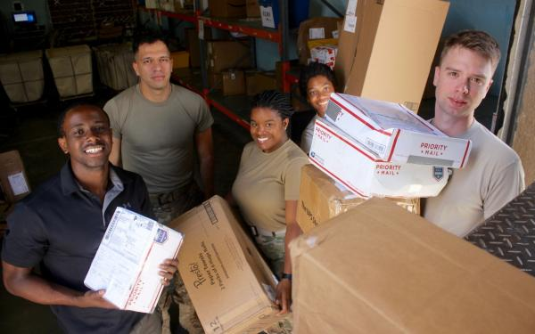 Here's what to send in a care package for single troops deployed overseas