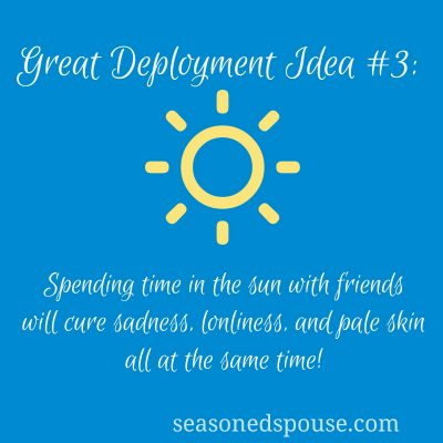 Idea #3: Ways to spend time outside!