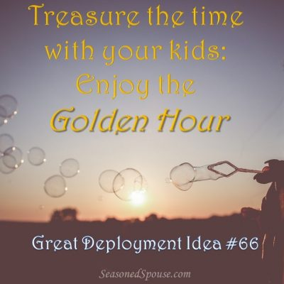 Kid Quality Time: Treasure the Golden Hour