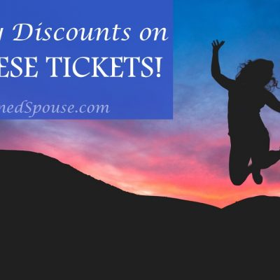 Military Discount tickets
