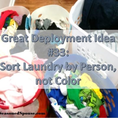 Handling Laundry in a full house: Idea #33