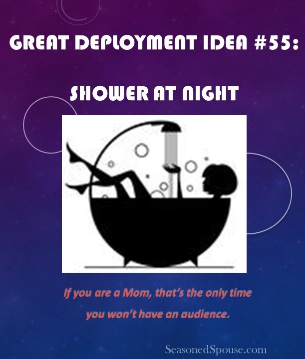 When can Mom Shower? Idea #55