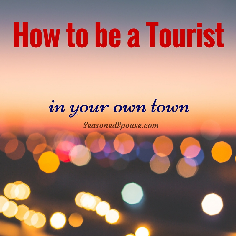 Explore your own town! Local tourism is fun and can save you money! Try these ideas for your next affordable vacation, and enjoy being a local tourist.