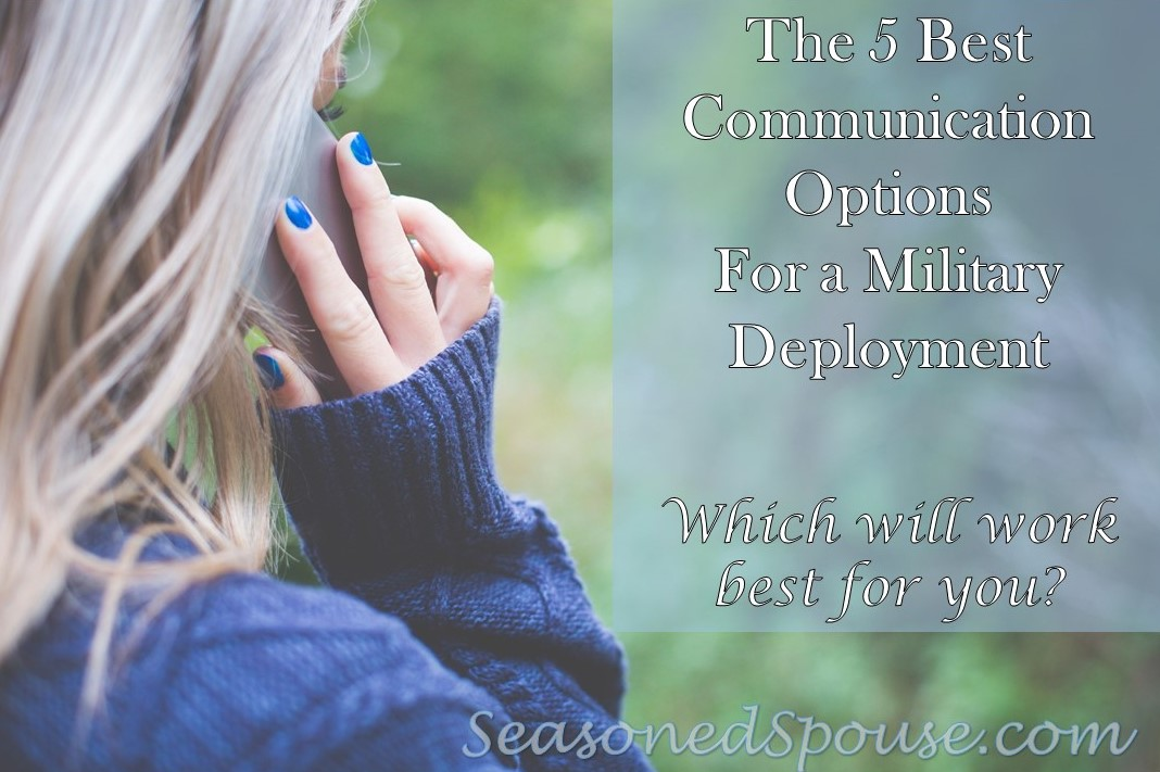 The best ways to communicate during a long distance relationship or military deployment #milspouse www.seasonedspouse.com