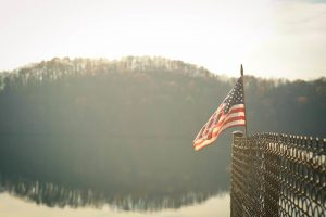 After living ovrseas, I appreciate every American flag I see.