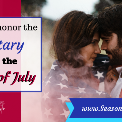 It's ok to honor the military on the 4th of July!