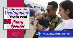 Here's the deployment advice you need to hear, from military spouses who have been through deployment.