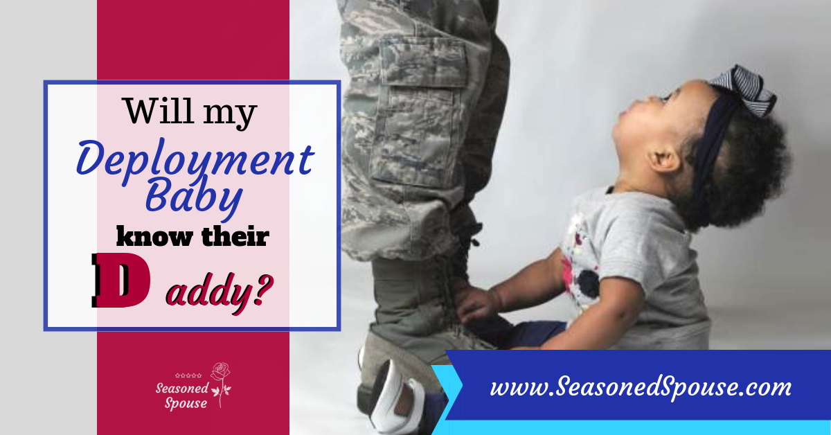 Ways to connect a deployment baby with their deployed parent