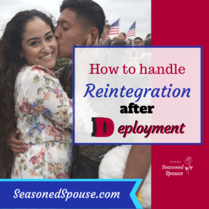 Reintegration after deployment