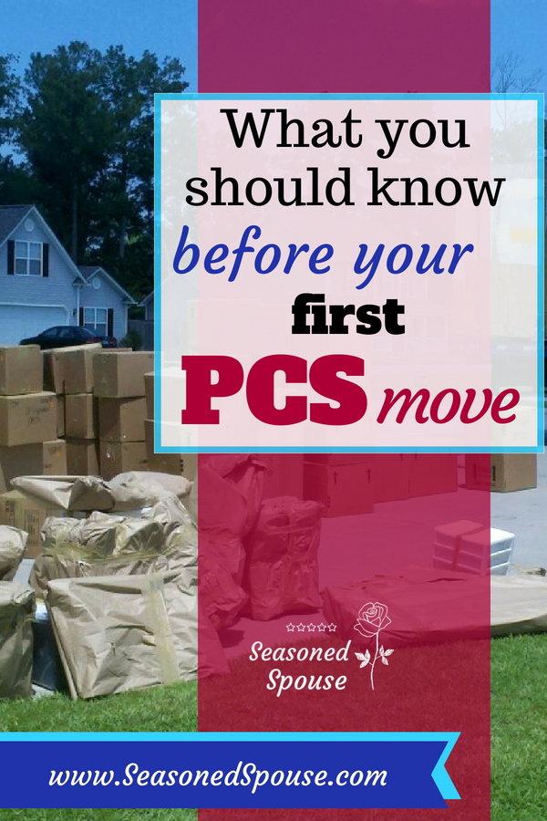 Read this before your first PCS move.