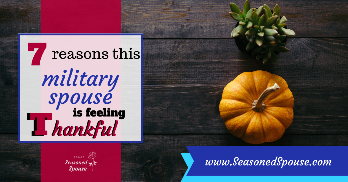 Why is this Military Spouse Thankful?