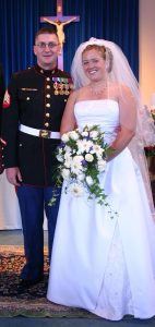 young military marriage