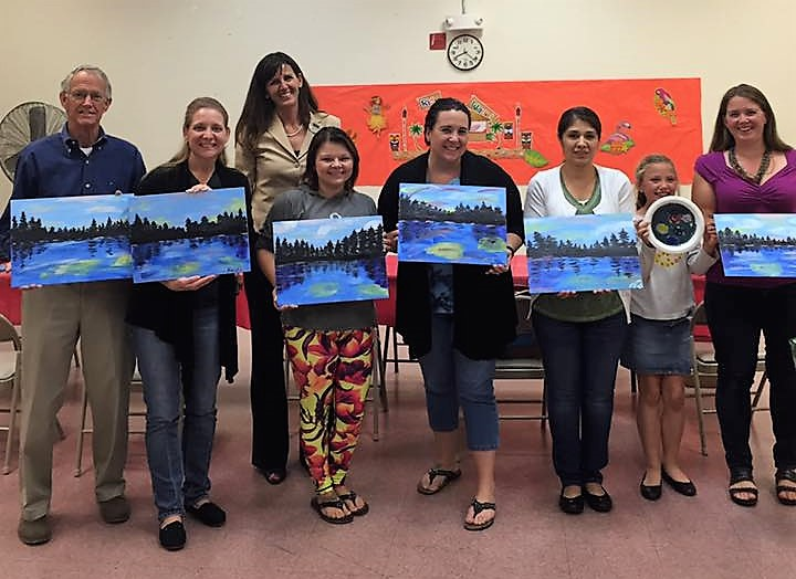Turn your girls' night out into a night of painting fun!