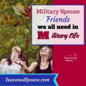 Military spouse friends