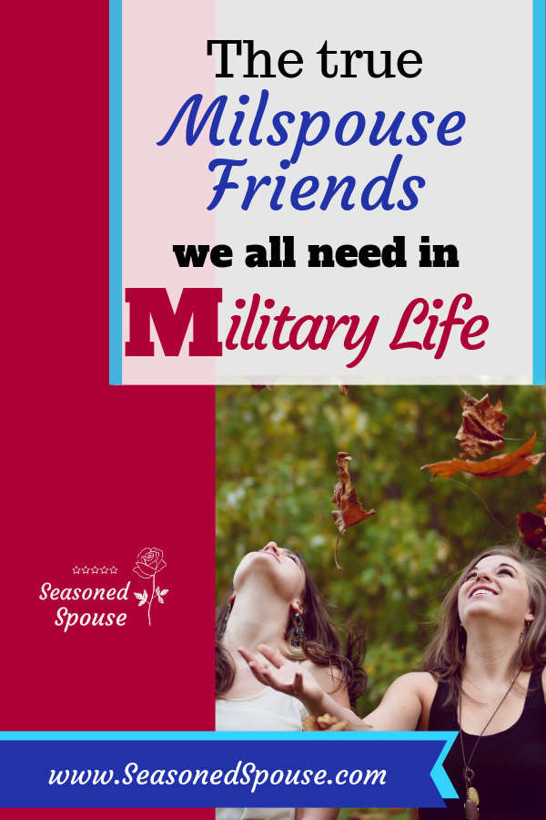Military spouse friends