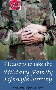 Take the Military Family Lifestyle Survey from Blue Star Families