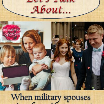 To the military spouse missing a family event