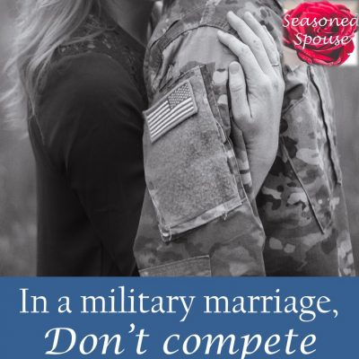 Toughest job in a military marriage