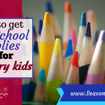 Free Back to School stuff for military kids