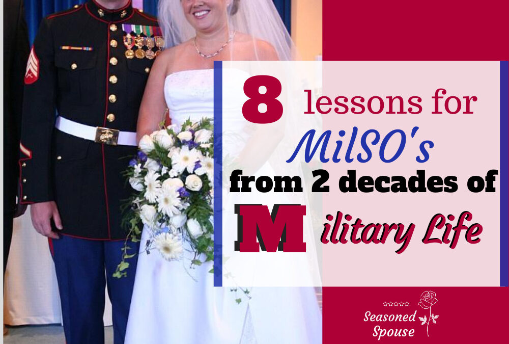 8 Military spouse lessons from two decades of military life