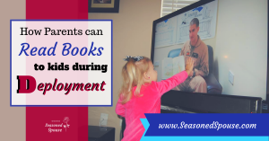 With United Through Reading, deployed parents can stay connected to their kids and read them books during deployment.