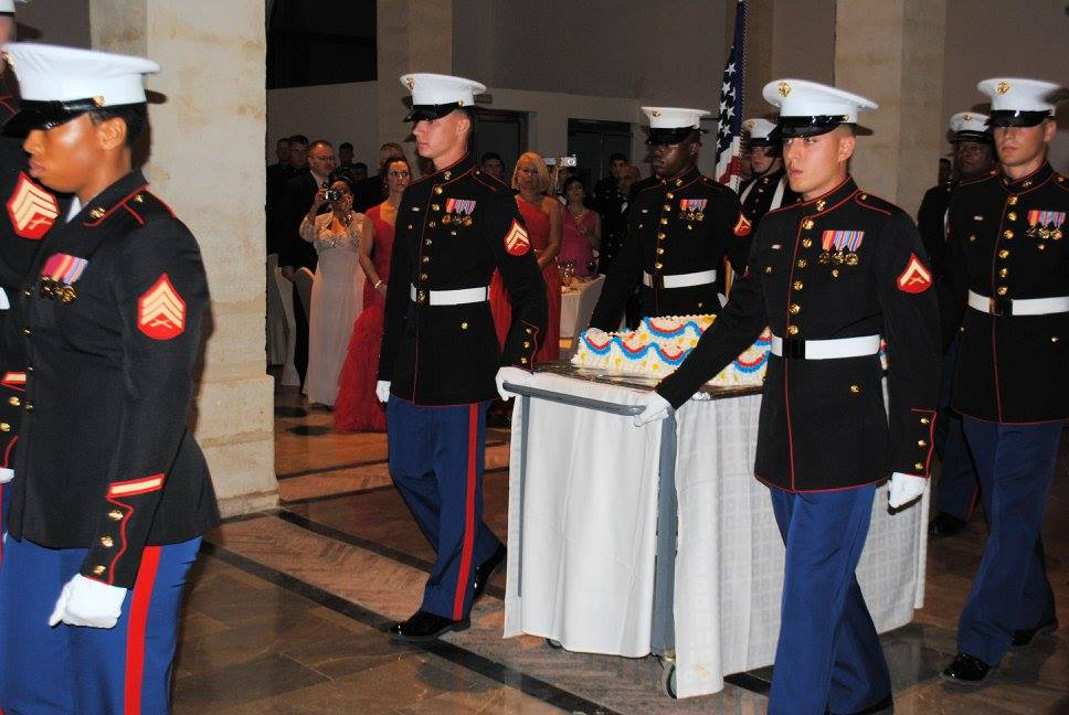 how to have fun at a military ball