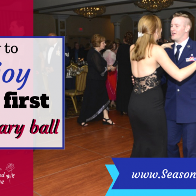 How to enjoy a military Ball