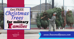 Free Christmas trees from Trees for Troops