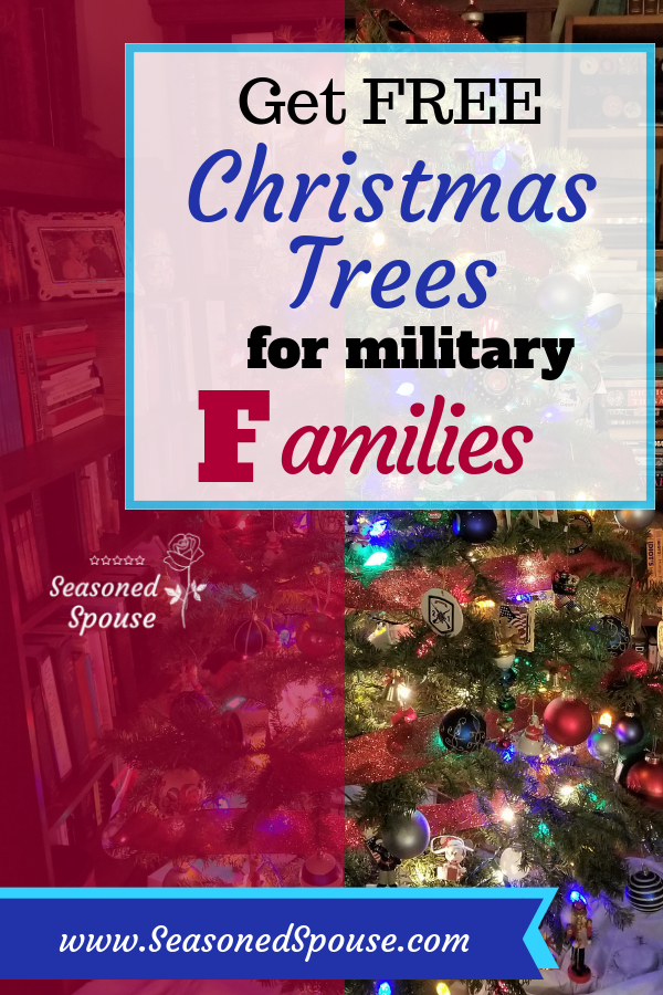 Military families can get free Christmas Trees from Trees for Troops