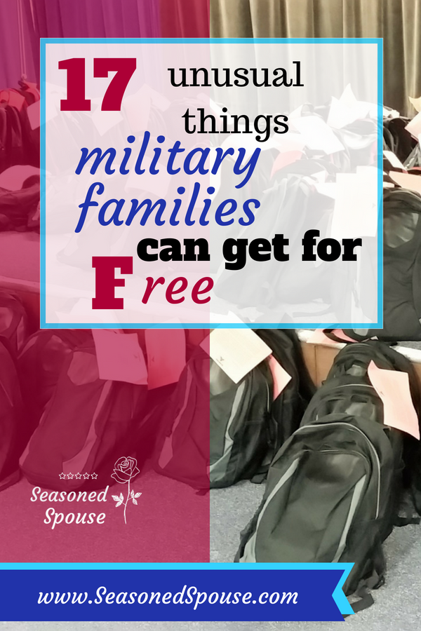 Military families can get all this for free!