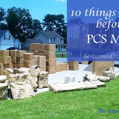 Top 10 things to purge before PCS moves