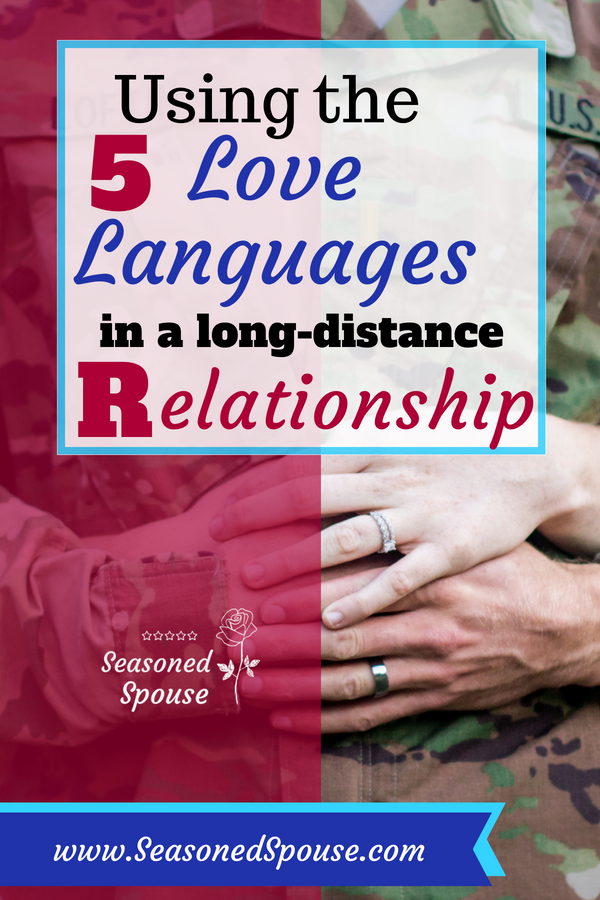 The 5 love languages can be used during deployment or in long-distance relationships, to make better care packages and communication.