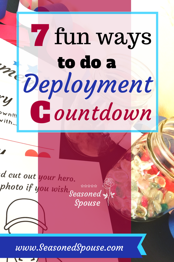 These deployment countdown ideas are perfect for military kids or adults!