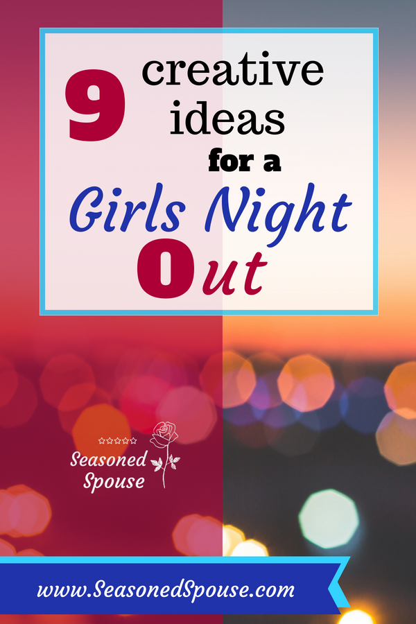 Use these fun ideas to plan a girls night out during deployment or for Galentine's Day!