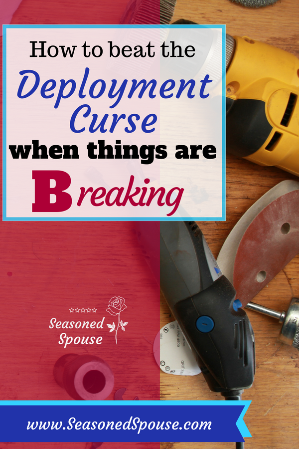 Military spouses can beat the dreaded deployment curse and handle any challenge that comes their way. #ThisisDeployment