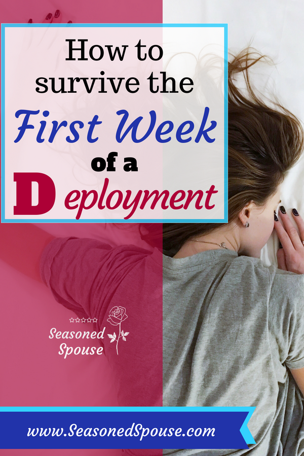 Milsos and milspouses, here's how you are going to get through the first week of deployment! #ThisisDeployment