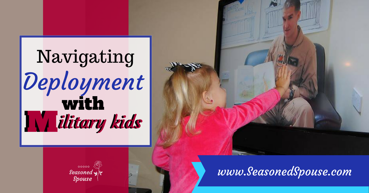 Here's how to handle deployment with military kids at different ages. #ThisisDeployment