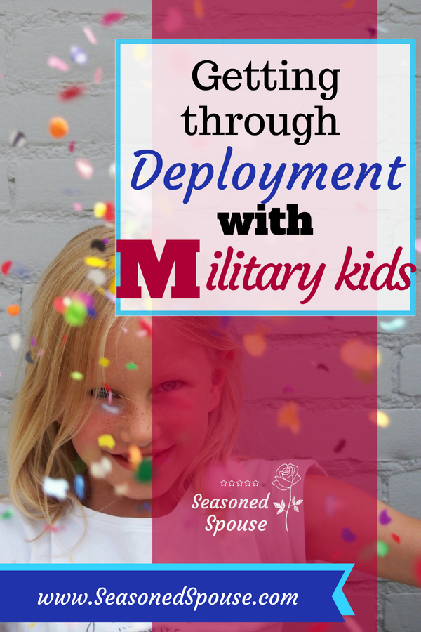 Here's how to handle deployments with military kids, at different ages.