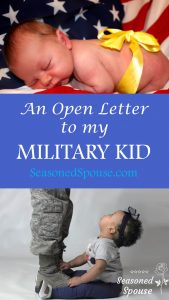How do you explain a military career to a baby? Here's one way...
