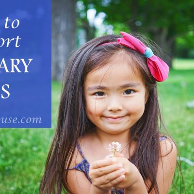 How can we support military kids?