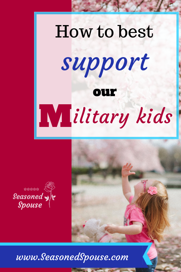 Learn how to best support our military kids
