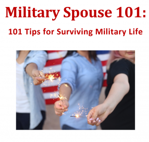 New milsos or military spouses will love this helpful eBook that includes 101 tips for military life.