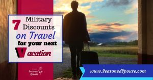 Vacation discounts for military families