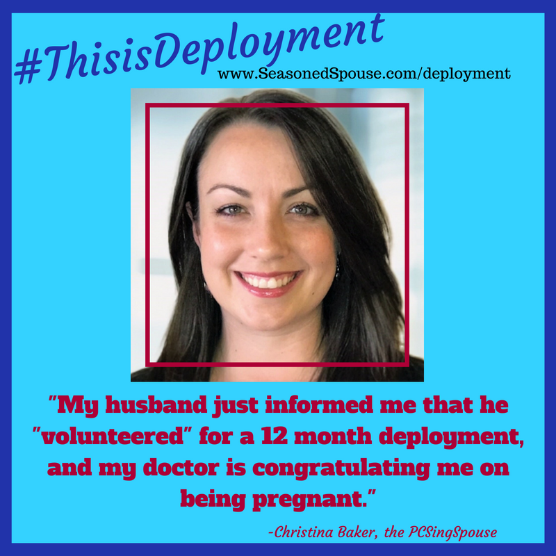 #ThisisDeployment when you find out you are pregnant and will have to give birth alone