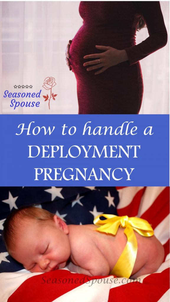 Pregnant during deployment? Here's how to handle a deployment pregnancy and solo birth as a military spouse.